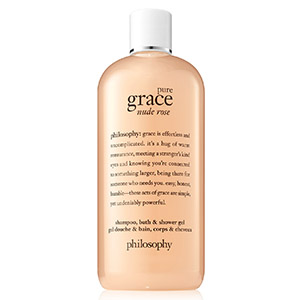 Pure Grace Nude Rose Shampoo, Shower Gel & Bubble Bath