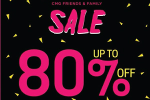YOU ARE INVITED!!! CMG Friends & Family Sale 2017
