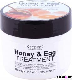 Scentio Honey & Egg Glossy and Extra Smooth Hair Treatment