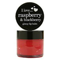 Raspberry & Blackberry glossy lip balm