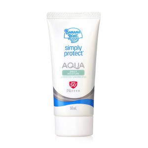 Simply Protect Aqua Daily Moisture UV Protection Sunscreen Lotion SPF50+ PA++++