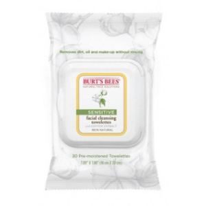 Sensitive Facial Cleansing Towelettes with Cotton Extract
