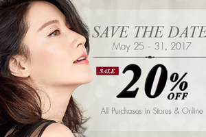 The History of Whoo Brand Anniversary SALE up to 20% off