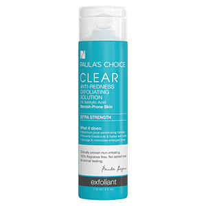 CLEAR Extra Strength Anti Redness Exfoliating Solution