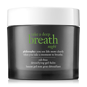 Take a Deep Breath Night Oil-Free Detoxifying Gel-Balm