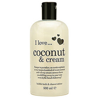 Coconut & Cream Bubble Bath&Shower Creme
