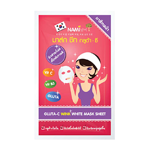 Gluta-C Wink White Mask Sheet