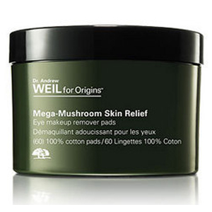 Plantidote Mega-Mushroom Eye Makeup Remover Pads with Therapeutic Benefits