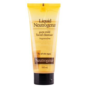 Liquid Neutrogena Pure Mild Fragrance Free