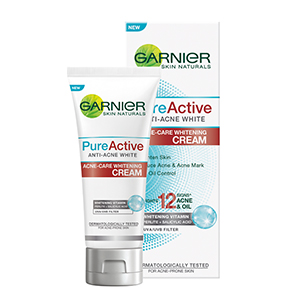 Pure Active Anti-Acne White Acne-Care Whitening Cream