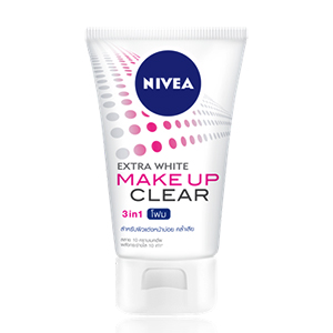 EXTRA WHITE MAKE UP CLEAR FOAM