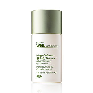 Dr. Andrew Weil for Origins™  Mega-Defense SPF 45/ PA++++ Advanced Daily UV Defender