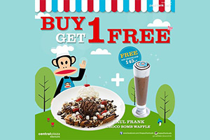 Promotion Buy 1 Get 1 Free