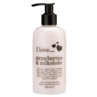 Moisturizing Body Lotion Strawberries & Milkshake