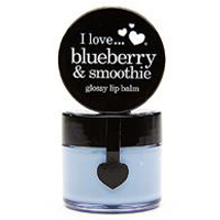 Blueberry & Smoothie glossy lip balm
