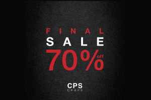 CPS Final recall ! , End of season SALE 70% off !