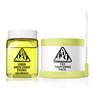 Lemon Green Caviar Essence & Tox Tightening Pack Kit