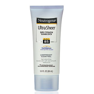 Ultra Sheer Dry-Touch Sunblock SPF 85