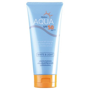 Aqua Base Sun UV Double Protection White and Light Body Serum