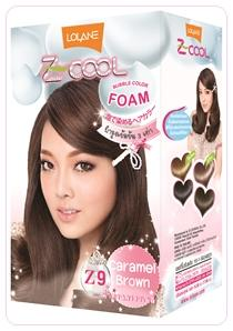z cool color bubble Z9 Caramel Brown
