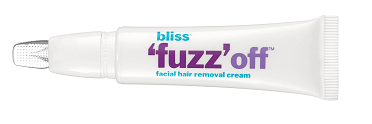 bliss fuzz off facial hair removal cream
