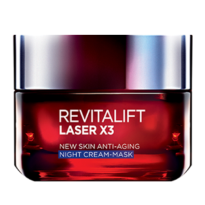 L'Oreal Paris Rivitalift Night Cream Mask