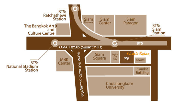 Map Let's Relax Siamsquare