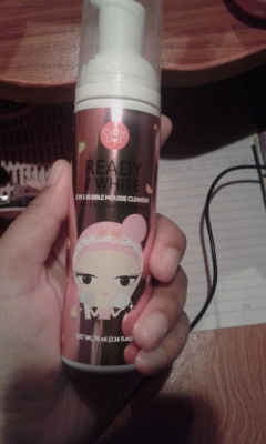 Ready 2 White 2in1 Bubble Mousse Cleanser
