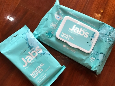 Mineral Water Wet Wipes