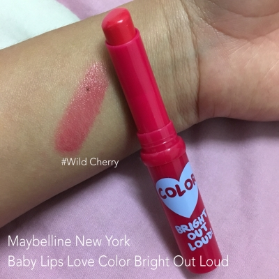 Baby Lips Love Color Bright Out Loud