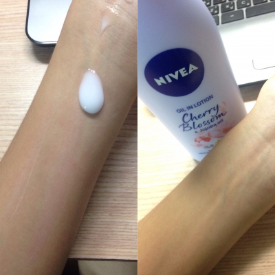 Oil in Lotion