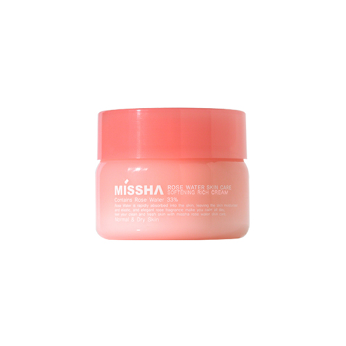 Rose Water Softening Rich Cream (Normal&Dry Skin types)
