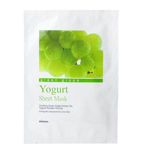Green Grape Yogurt Sheet Mask