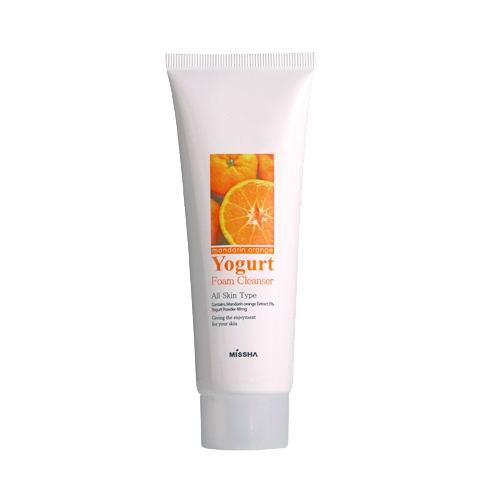 Mandarin Orange Yogurt Foam Cleanser
