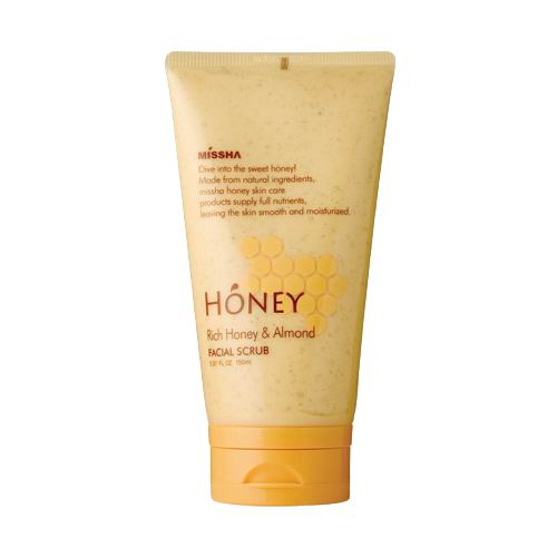 Rich Honey & Almond Facial Scrub