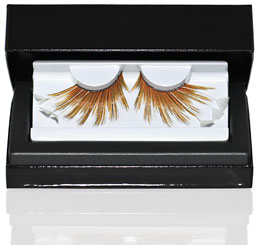 Premium Radiant Yellow False Eyelashes