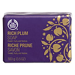 Rich Plum Wrapped Soap