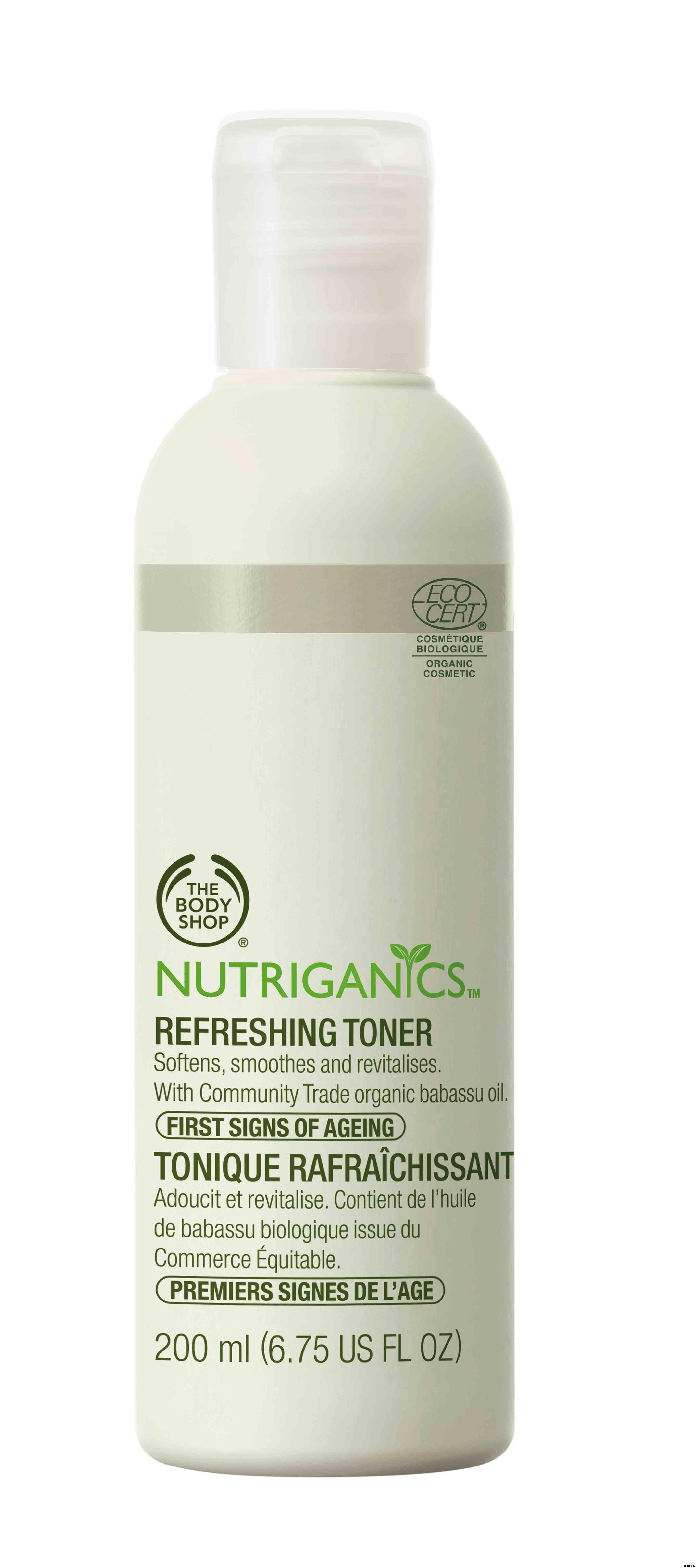 Nutriganics Refreshing Toner