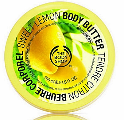 Sweet Lemon Body Butter