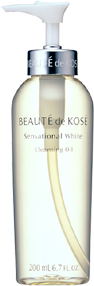 Sensational White Cleansing Oil