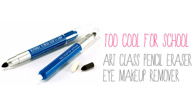 Too Cool For School Art Class Pencil Eraser Eye Makeup Remover