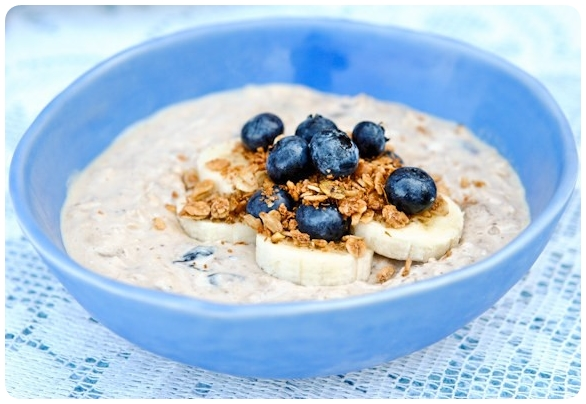 oatmeal breakfast menu