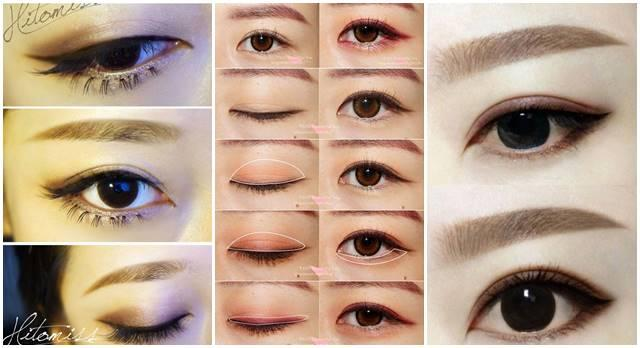 asian bigeye makeup tips
