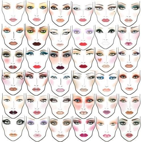 makeup color combinations