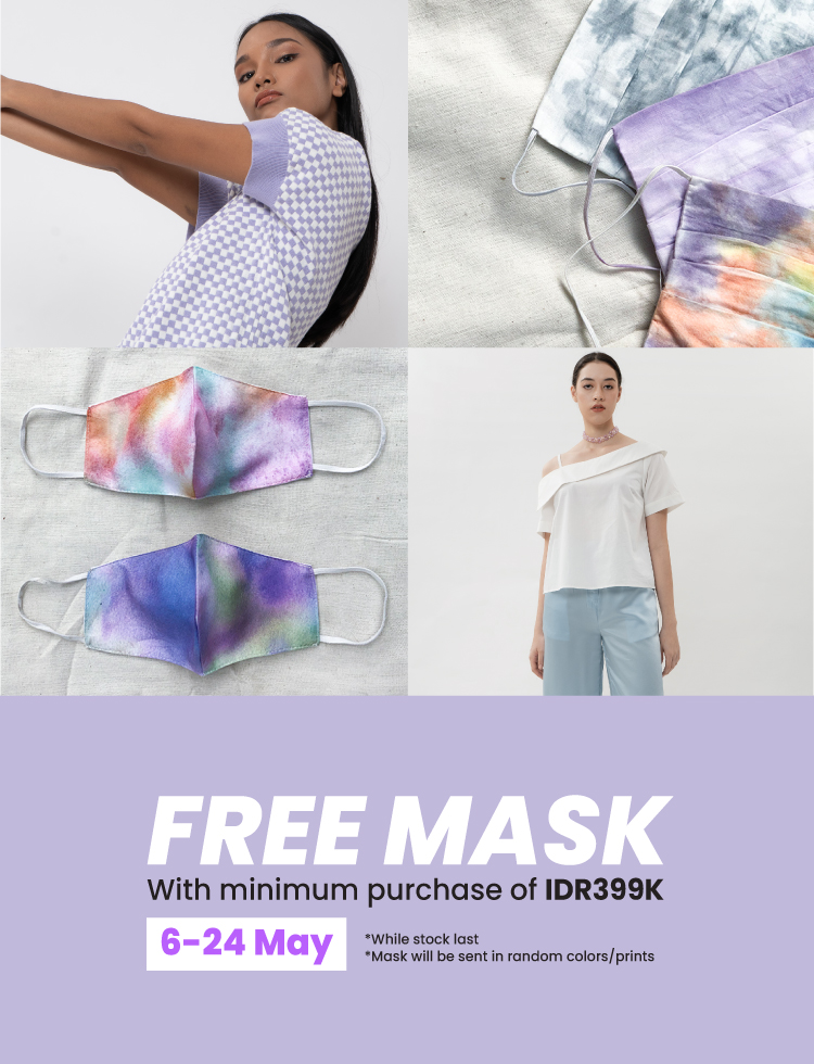 banner promo free mask