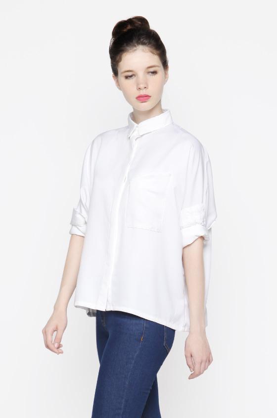 4e67e3bec2 Woven Shirt Off-white Devon