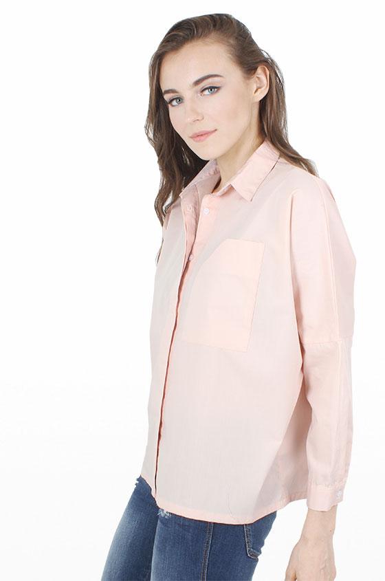 6a449b45ac Woven Shirt Peach Devon