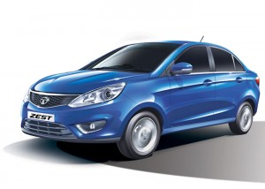 Tata Zest - Side View