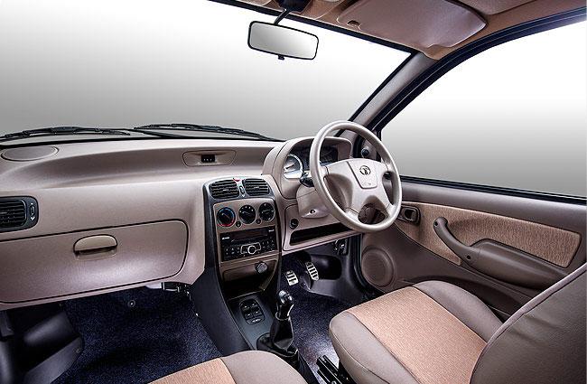 Tata Indica e-Xeta Shadow Beige Interiors