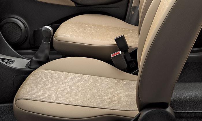 Tata Indica CR4 Sahara Beige Seats